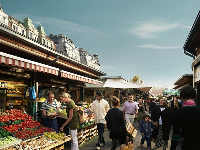 Naschmarktem Viena | Áustria