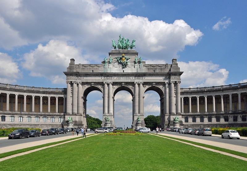Parque do Cinquentenário em Bruxelas
