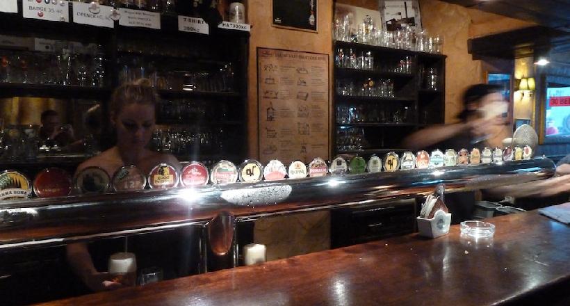 Bar Prague Beer Museum em Praga