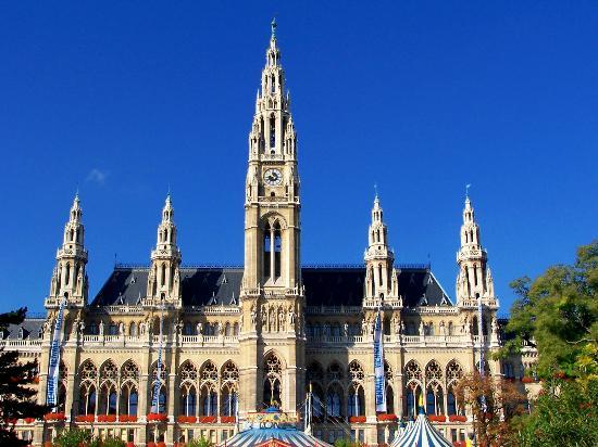 Rathaus em Viena