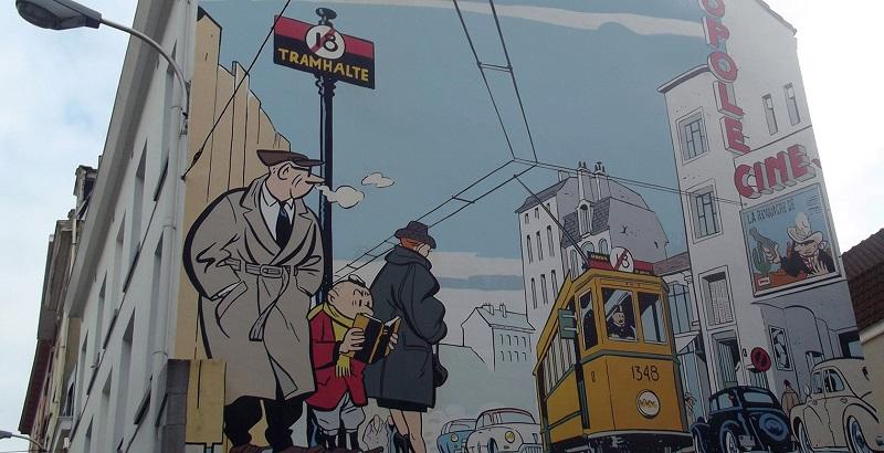 Tour dos Quadrinhos em Bruxelas