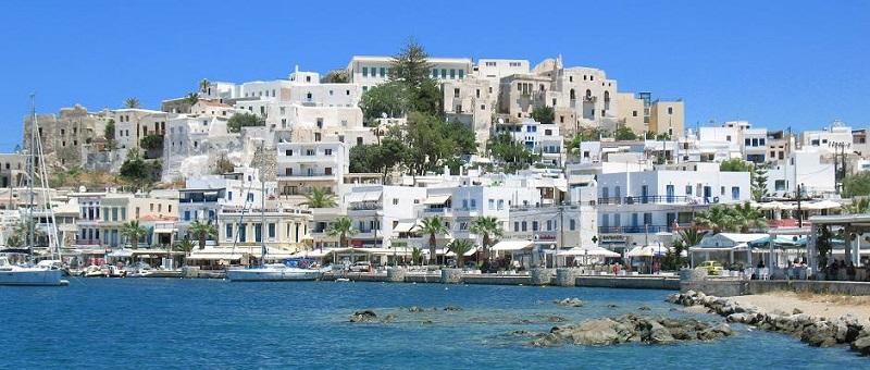 Chora em Naxos