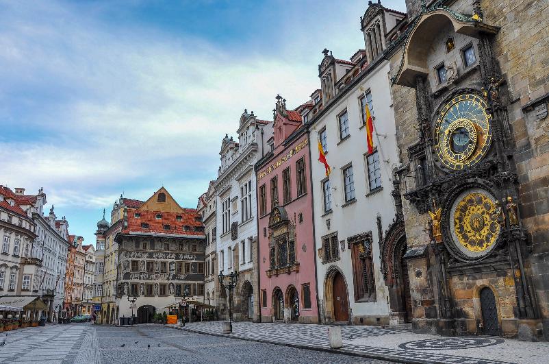 Clima e temperatura em Praga