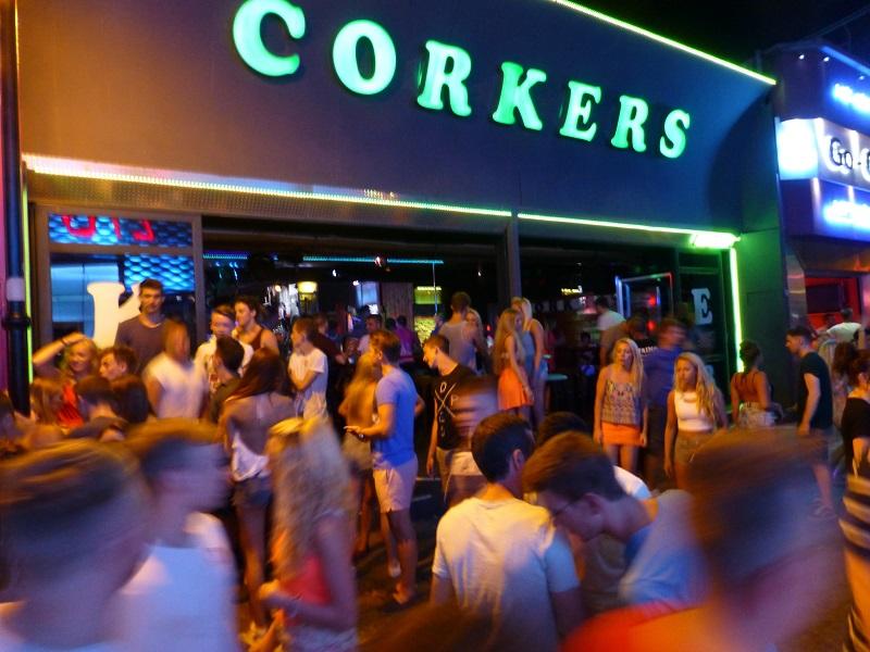 Corkers Club na ilha de Creta