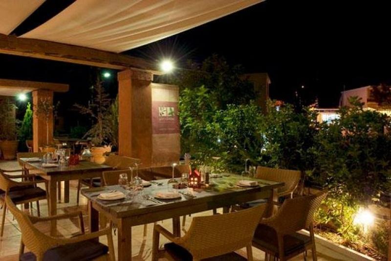 Restaurante Elia & Diosmos na ilha de Creta