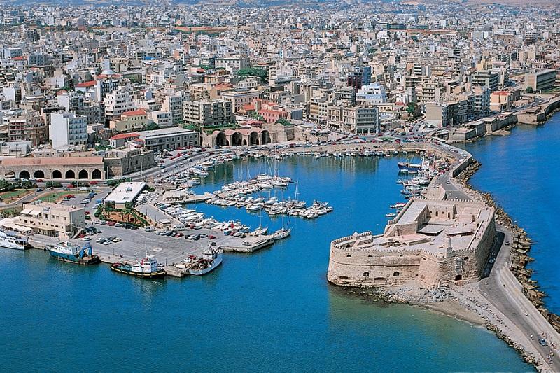 Heráklion em Creta