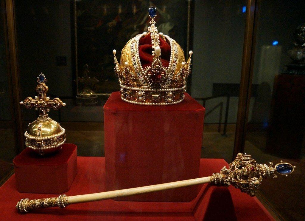 Museu Imperial Treasury em Viena