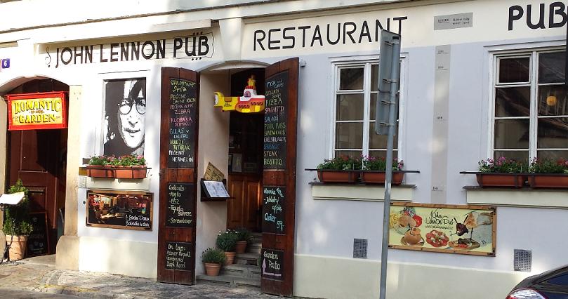 John Lennon Pub em Praga
