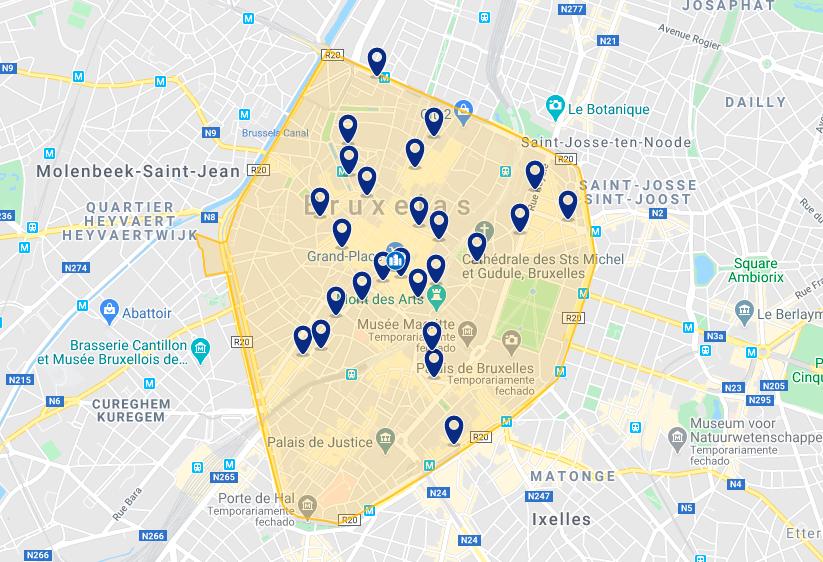 Onde ficar em Bruxelas: melhores hotéis