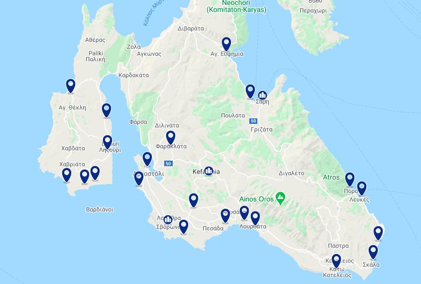 Onde ficar na ilha de Cefalônia: melhores hotéis