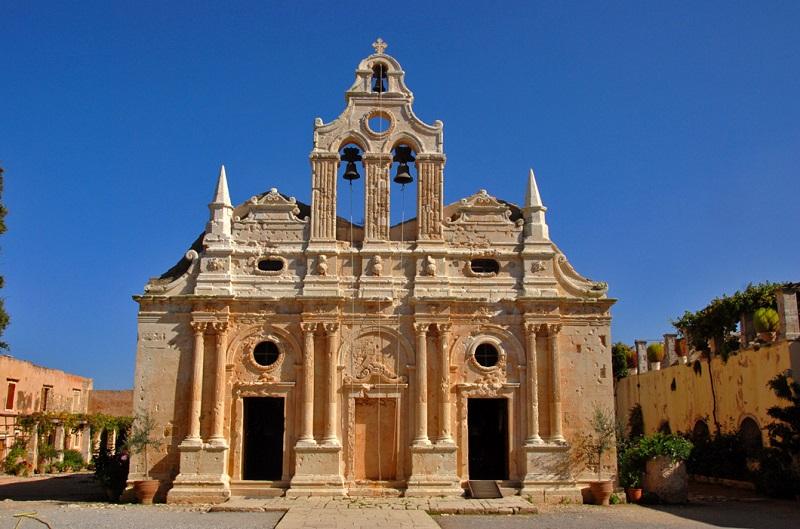 Monastério Arkadi em Creta