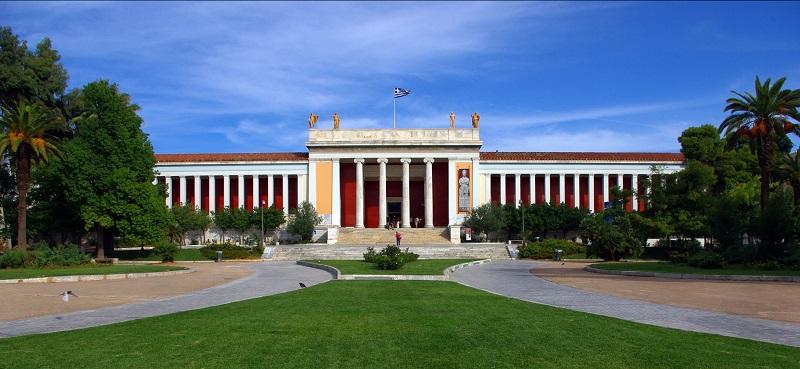 Museu Arqueológico Nacional em Atenas