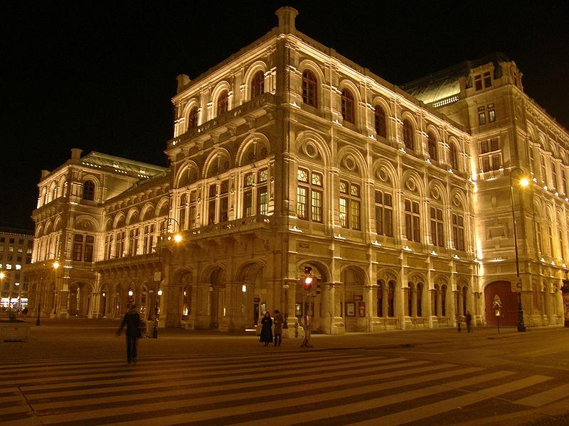 Ópera House em Viena