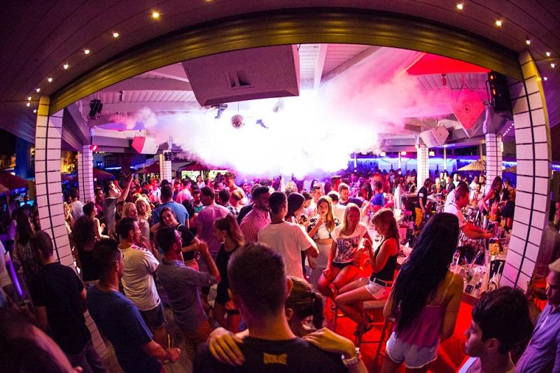Palm Beach Club na ilha de Creta