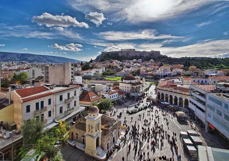 Passeios românticos em Atenas na Grécia