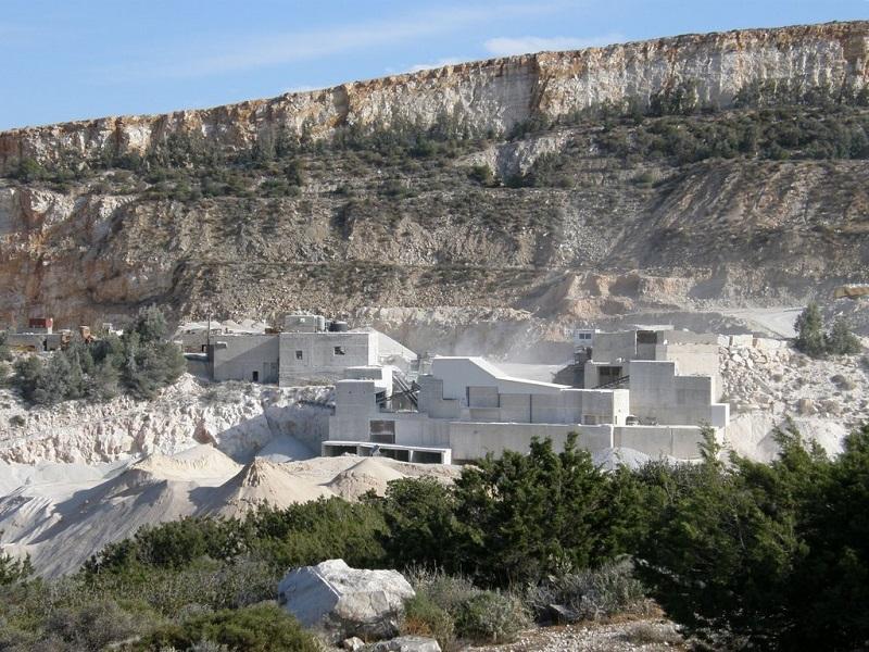 Pedreiras de Mármore na ilha Paros