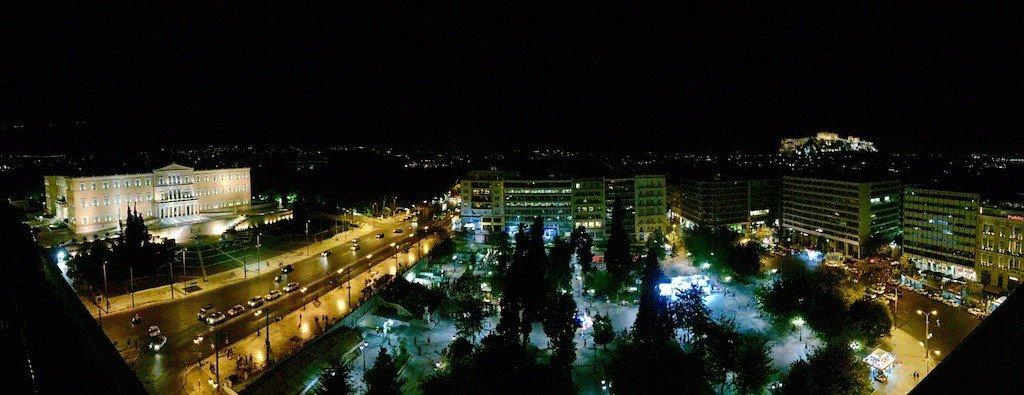 Praça Syntagma em Atenas