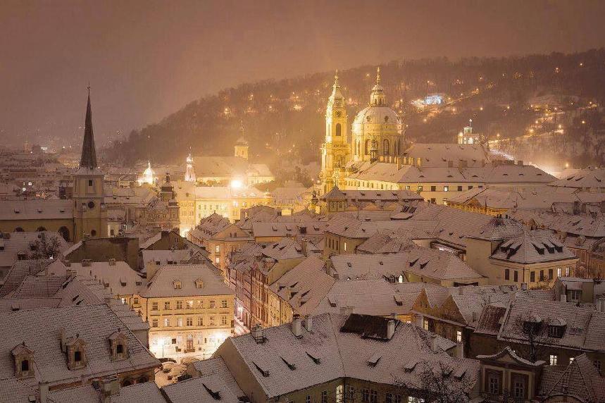 Inverno em Praga