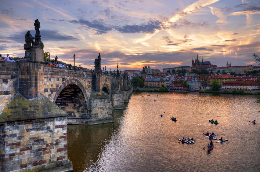 Verão em Praga