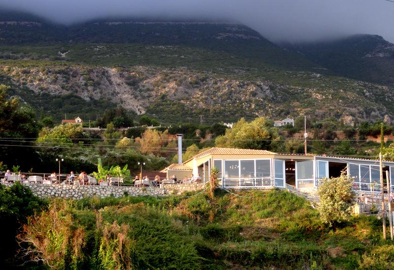 Restaurante Lorraine's Magic Hill na ilha de Cefalônia