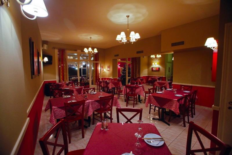 Restaurante Ampelaki na ilha de Cefalônia