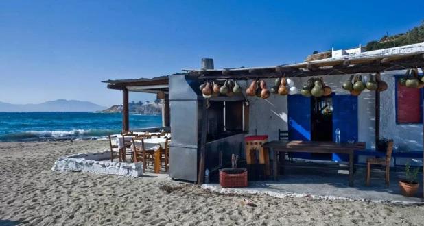 Restaurante Joanna's Nikos na ilha de Mykonos