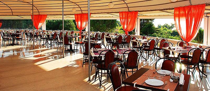 Restaurante Oskars na ilha de Cefalônia