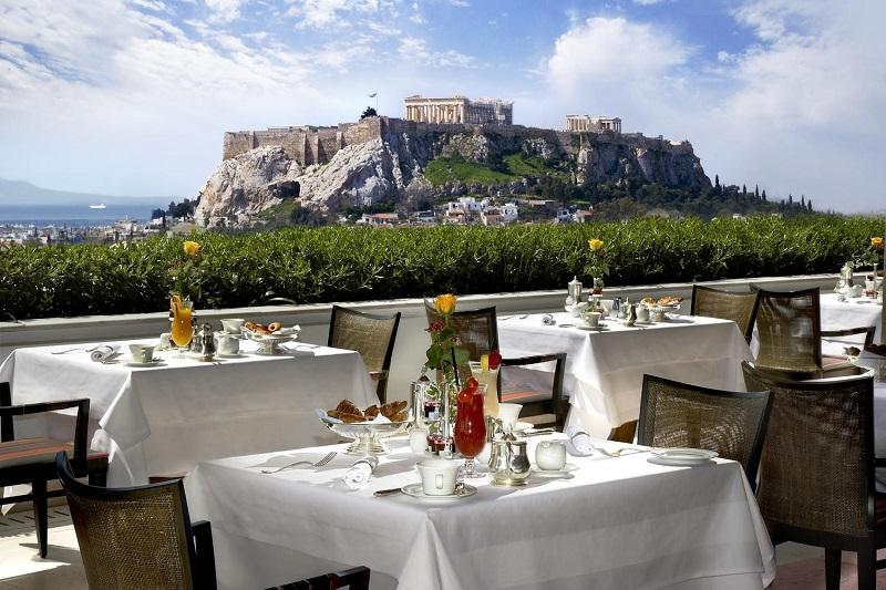 Restaurante em Atenas