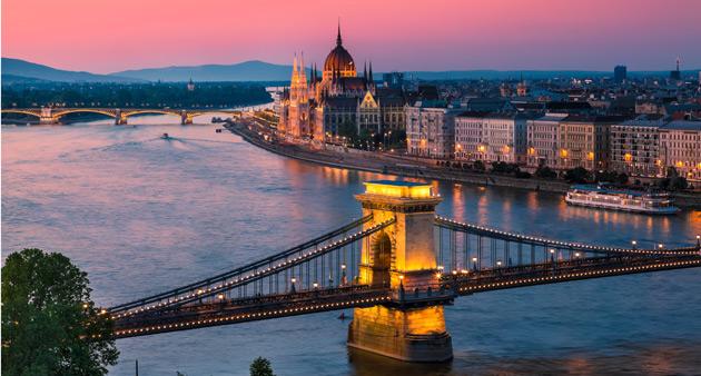 Passeio de barco em Viena