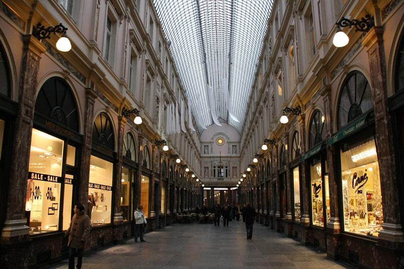 Shoppings em Bruxelas na Bélgica