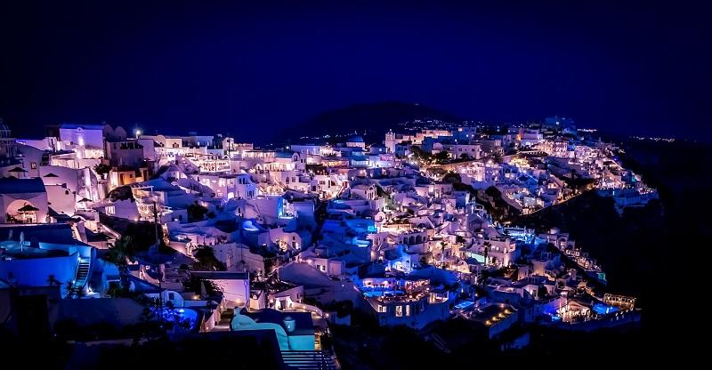 Baladas na ilha de Santorini | Grécia