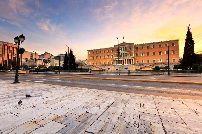 Região de Syntagma em Atenas