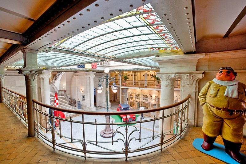 Museu dos Quadrinhos em Bruxelas
