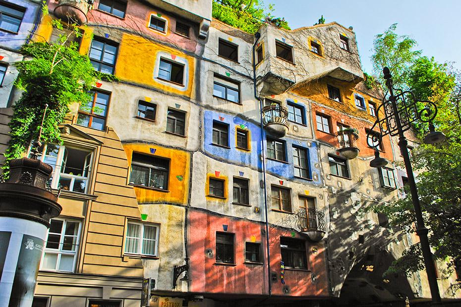 Hundertwasserhaus em Viena