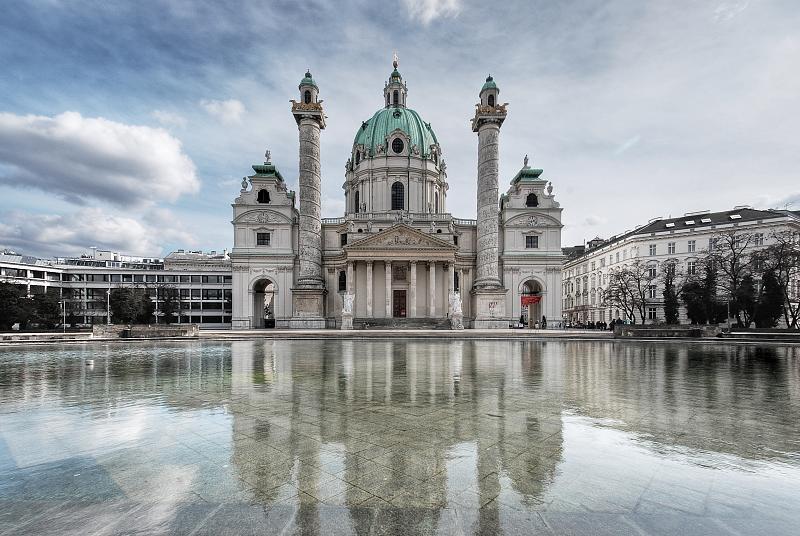 Karlskirche em Viena
