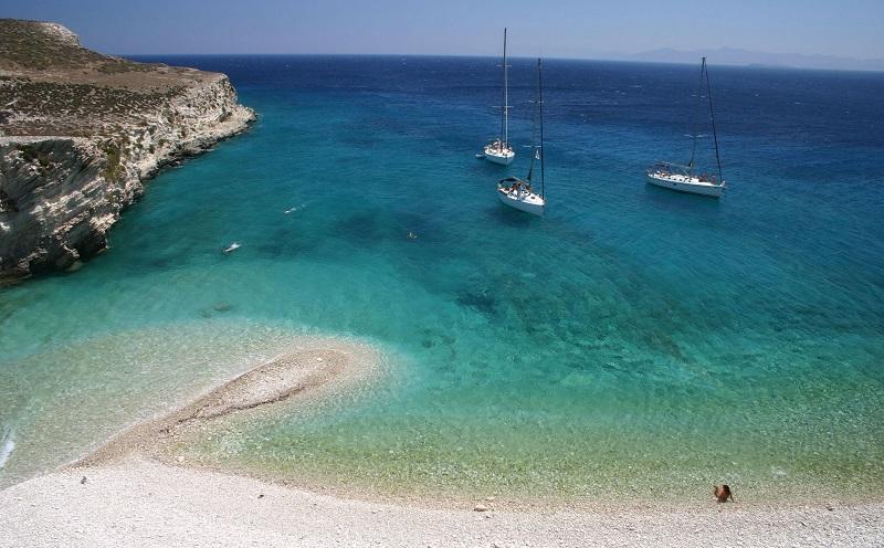 Ilha Rhenia em Mykonos