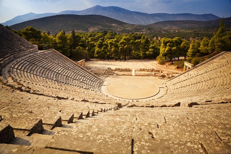 Argolis na Grécia
