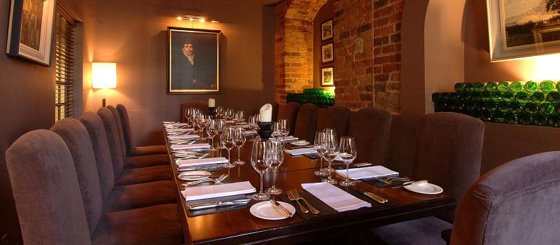 Restaurante Chapter One em Dublin