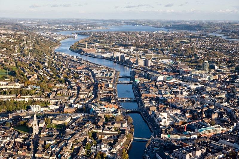 As principais cidades da Irlanda