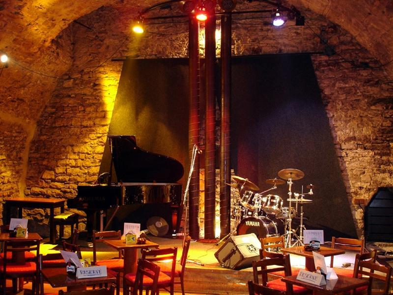 Clube de Jazz em Praga