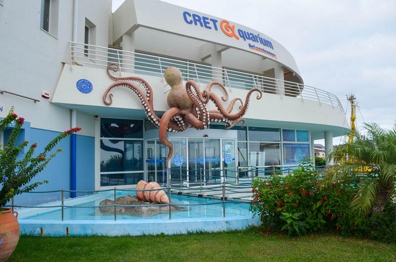 Cretaquarium em Creta