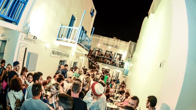 Skandinavian Bar em Mykonos