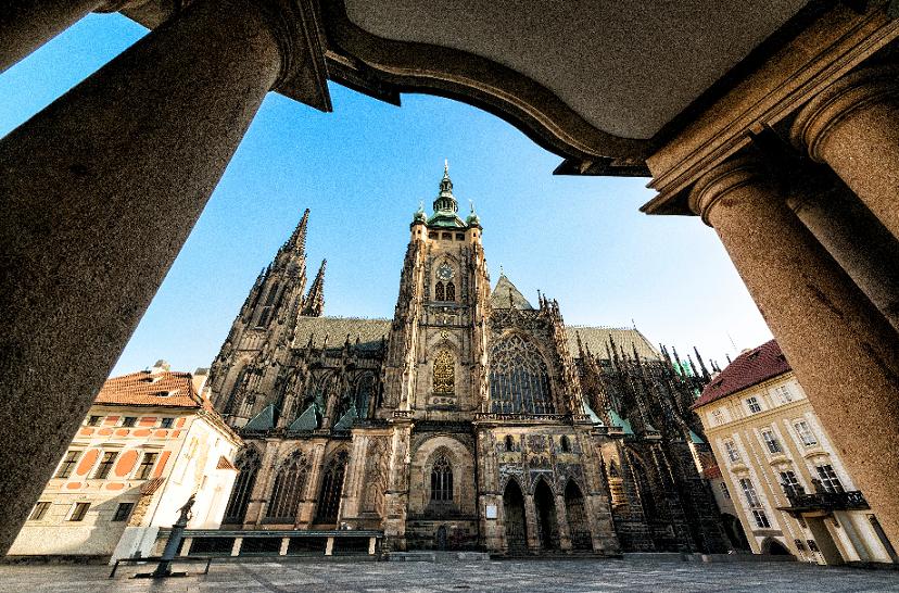 Distrito do Castelo em Praga