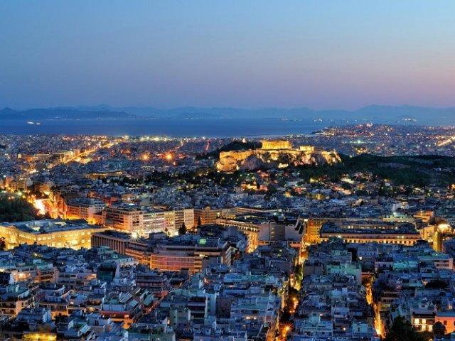 Tempo de avião até Atenas | Grécia
