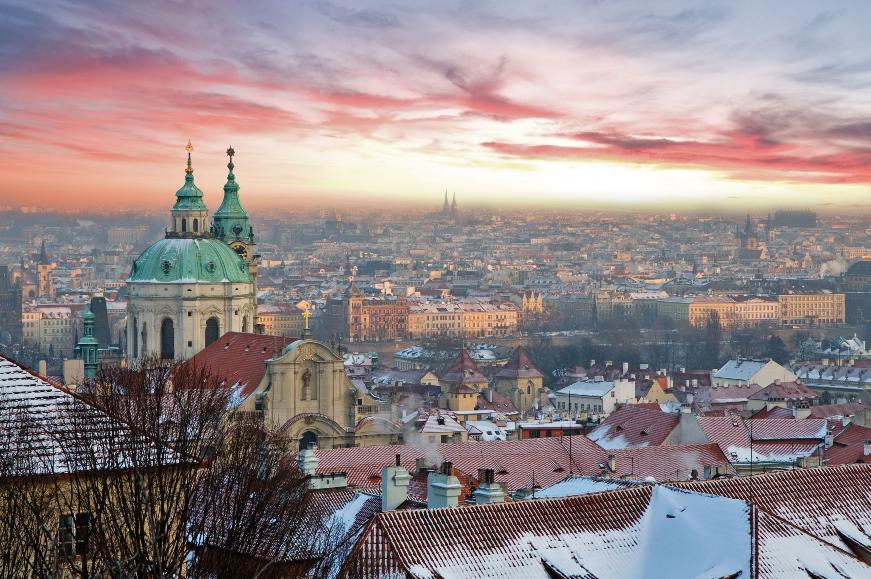 Vista da República Checa