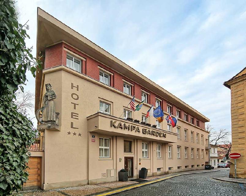 Hotel Kampa Garden em Praga