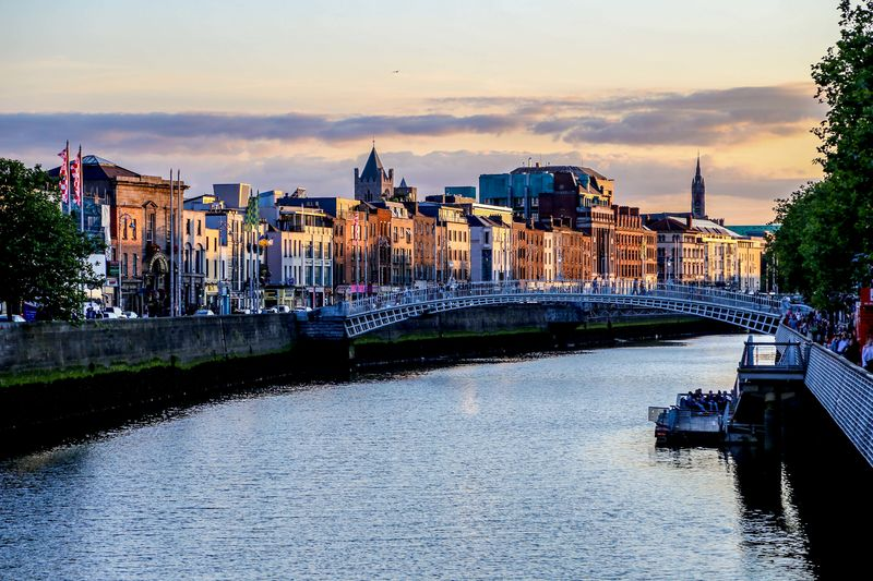 Inverno em Dublin