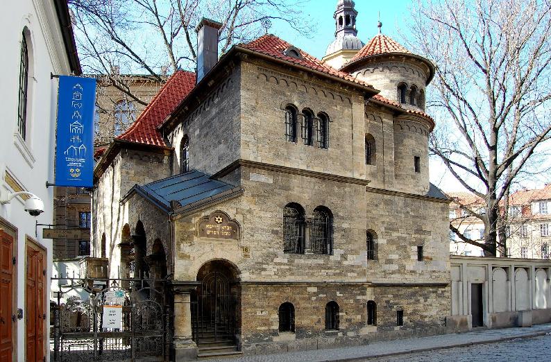 Bairro Judeu Josefov em Praga