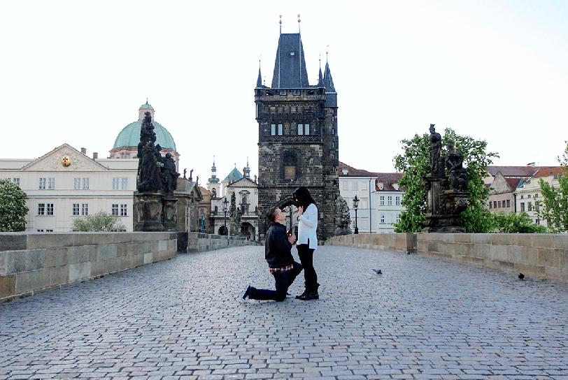 Lua de Mel em Praga na República Checa