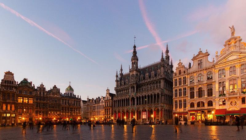Lua de mel em Bruxelas na Bélgica